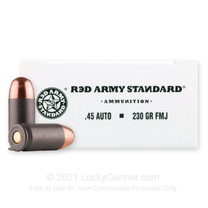 Image 2 of Red Army Standard .45 ACP (Auto) Ammo