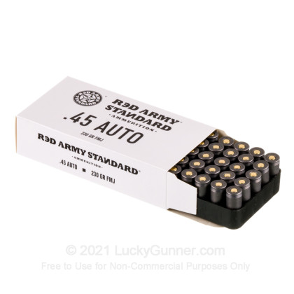 Image 3 of Red Army Standard .45 ACP (Auto) Ammo