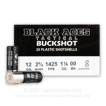 Image 1 of Black Aces Tactical 12 Gauge Ammo