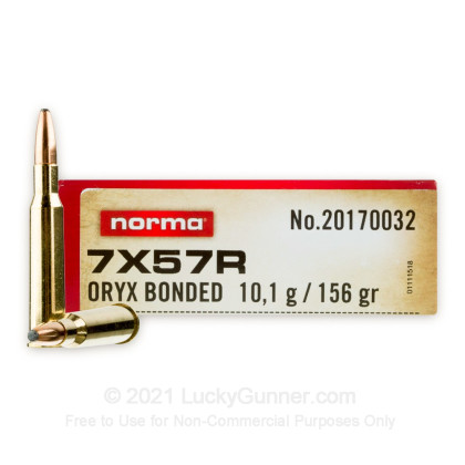 Image 1 of Norma 7.57 Rimmed Ammo