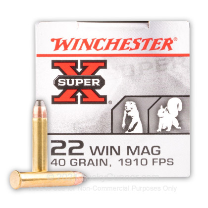Image 2 of Winchester .22 Magnum (WMR) Ammo