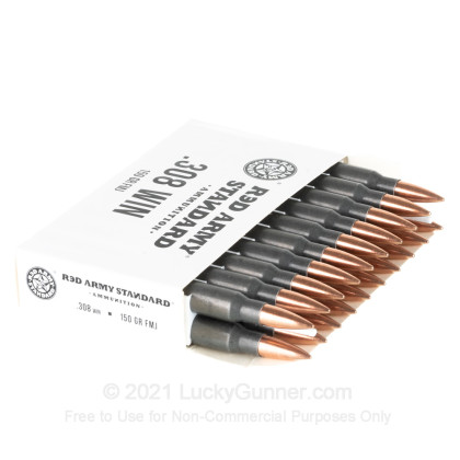Image 3 of Red Army Standard .308 (7.62X51) Ammo