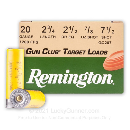 Image 1 of Remington 20 Gauge Ammo