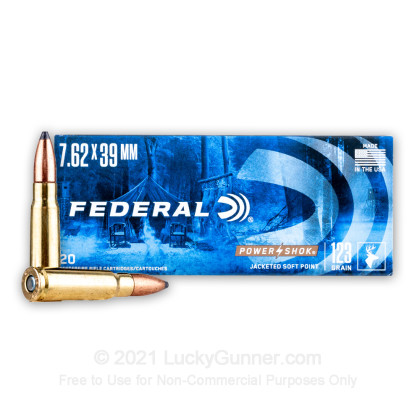 Image 2 of Federal 7.62X39 Ammo