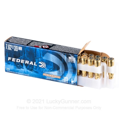 Image 3 of Federal 7.62X39 Ammo