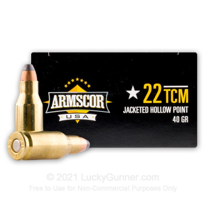 Image 2 of Armscor .22 TCM Ammo