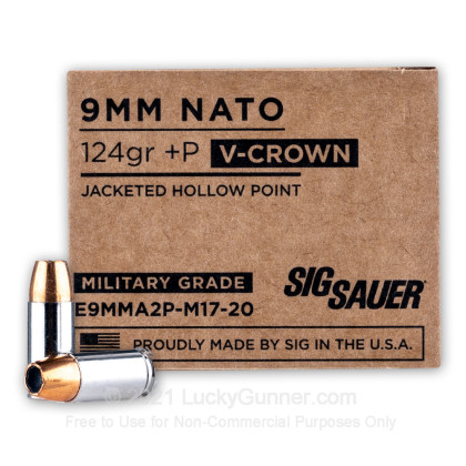 Image 1 of SIG SAUER 9mm Luger (9x19) Ammo