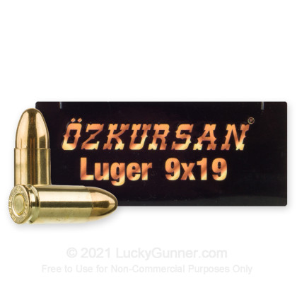 Image 2 of Ozkursan 9mm Luger (9x19) Ammo