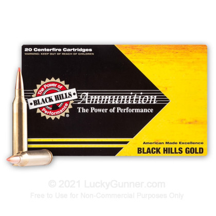 Image 2 of Black Hills Ammunition 7mm Remington Magnum Ammo