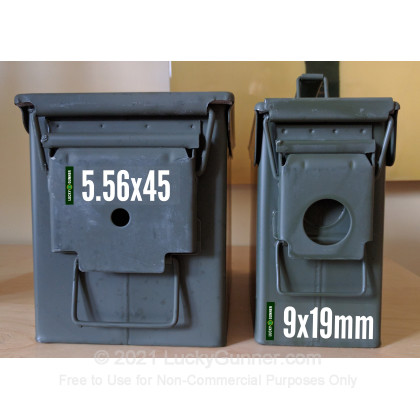 Large image of Ammo Can Caliber Stickers for Sale