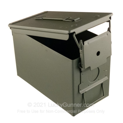 Large image of 50 Cal Green Brand New Mil-Spec M2A2 Ammo Cans For Sale