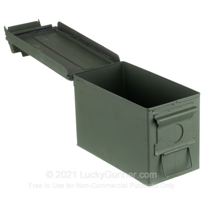Large image of 50 Cal Green Brand New Mil-Spec M2A1 Ammo Cans For Sale