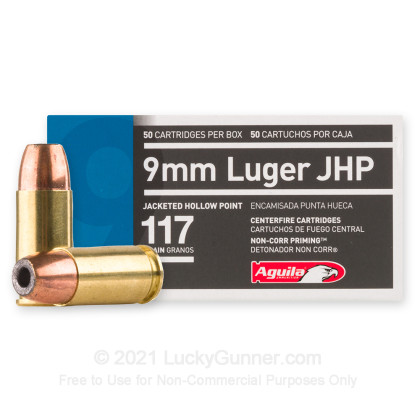 Image 1 of Aguila 9mm Luger (9x19) Ammo