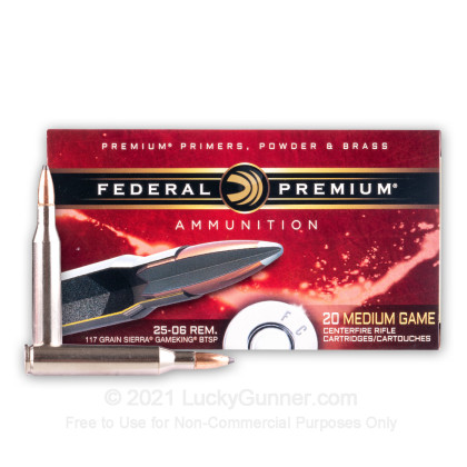 Image 2 of Federal .25-06 Ammo