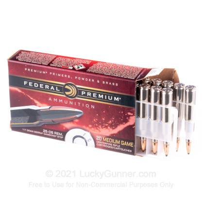 Image 3 of Federal .25-06 Ammo