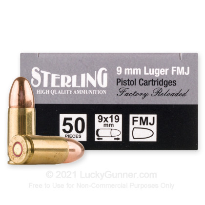 Image 2 of Sterling 9mm Luger (9x19) Ammo