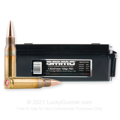 Image 1 of Ammo Incorporated .308 (7.62X51) Ammo