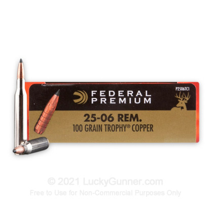 Image 1 of Federal .25-06 Ammo