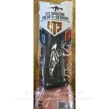 Large image of Elite Tactical Systems AR-15 30rd - 5.56/.223 - Smoke - Magazine For Sale