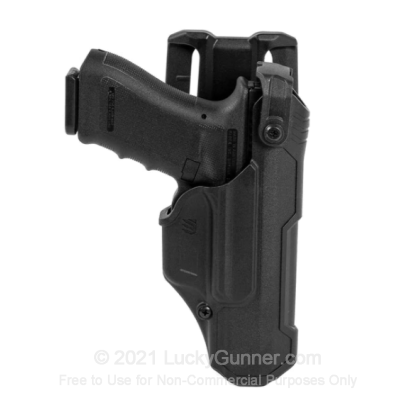 Large image of Holster - Outside the Waistband - Blackhawk - T-Series L3D Duty Holster - Right Hand