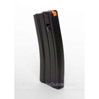 Large image of C-Products 223 Black Teflon Finish Aluminum Magazine For AR-15 For Sale - 30 Rounds