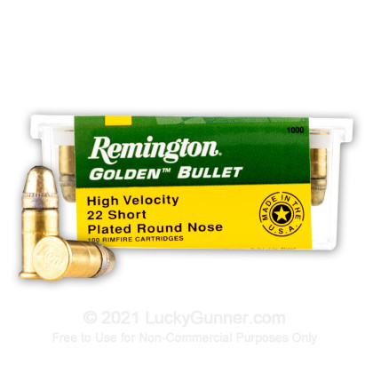 Image 1 of Remington .22 Short Ammo