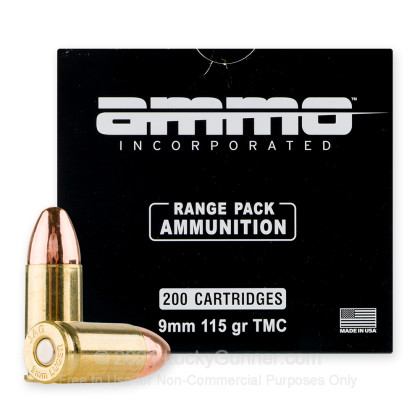 Image 1 of Ammo Incorporated 9mm Luger (9x19) Ammo