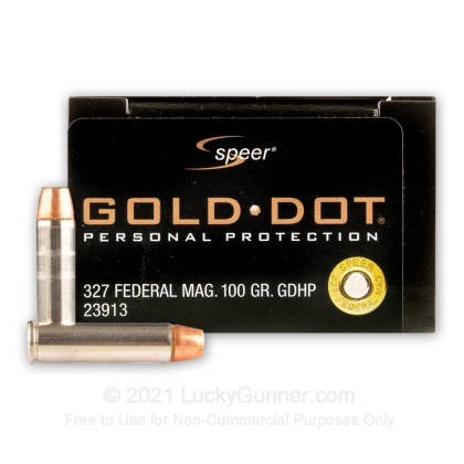 Image 1 of Speer .327 Federal Magnum Ammo