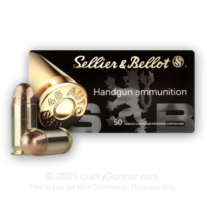 Image 2 of Sellier & Bellot .45 ACP (Auto) Ammo