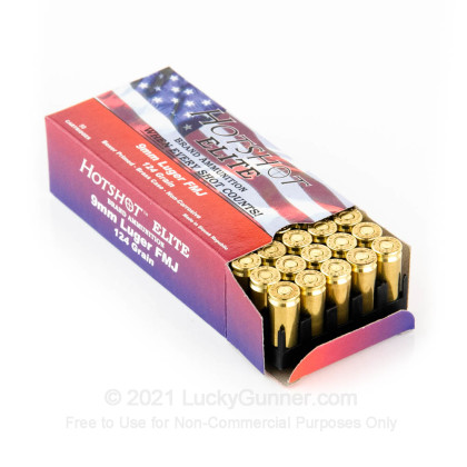 Image 3 of Hotshot Ammunition 9mm Luger (9x19) Ammo