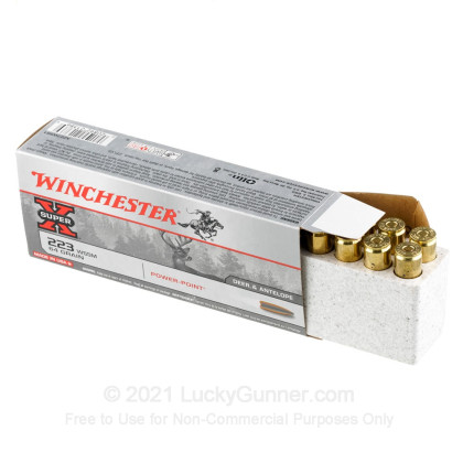 Image 3 of Winchester .223 WSSM Ammo