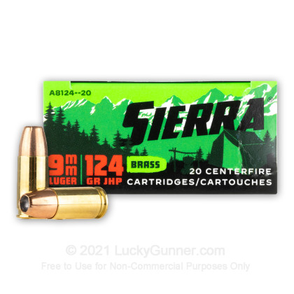 Image 1 of Sierra Bullets 9mm Luger (9x19) Ammo