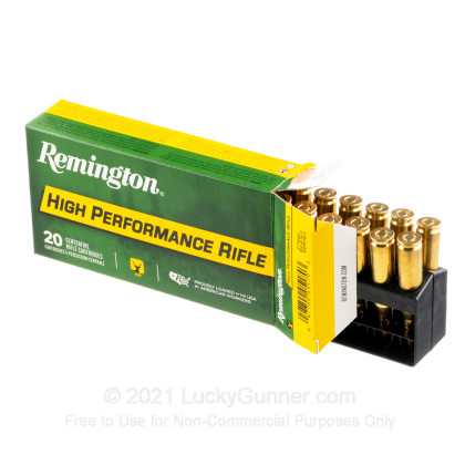 Large image of 243 Ammo For Sale - 80 Grain PSP - Remington Rifle Ammo Online