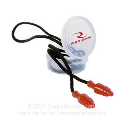 Large image of Radians Snug Plugs Corded Ear Plugs For Sale - 28 NRR - Radians Hearing Protection in Stock