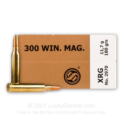 Image 2 of Sellier & Bellot .300 Winchester Magnum Ammo