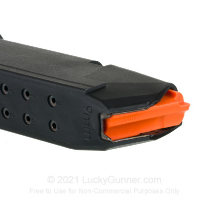 Large image of Factory Glock 9mm Generation 5 G19 15 Round Magazine For Sale - 15 Rounds