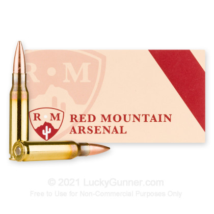 Image 2 of Red Mountain Arsenal .308 (7.62X51) Ammo