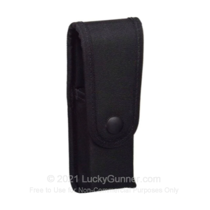 Large image of Fitted Pistol Single Magazine Case - Uncle Mike's - Black