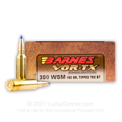 Image 1 of Barnes 300 Winchester Short Magnum Ammo