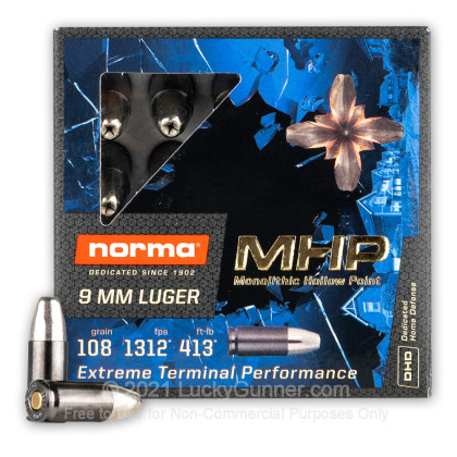 Image 2 of Norma 9mm Luger (9x19) Ammo