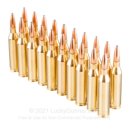 Large image of Premium 243 Ammo For Sale - 100 Grain PSP Ammunition in Stock by Remington Hypersonic Bonded - 20 Rounds