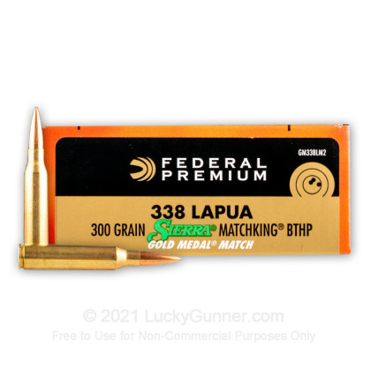 Image 1 of Federal .338 Lapua Magnum Ammo