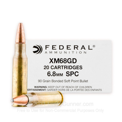 Image 1 of Federal 6.8 Remington SPC Ammo