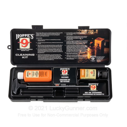Large image of Hoppe's Pistol Cleaning Kit - .38, .357, & 9mm