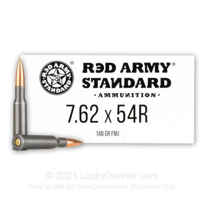 Image 1 of Red Army Standard 7.62x54r Ammo