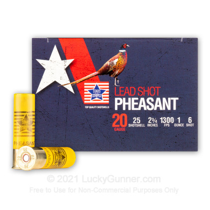 Image 1 of Stars & Stripes 20 Gauge Ammo