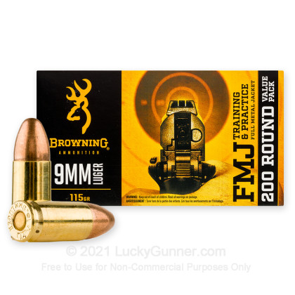 Image 2 of Browning 9mm Luger (9x19) Ammo
