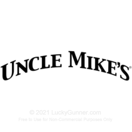 Large image of Single Handcuff Case - Uncle Mike's - Black