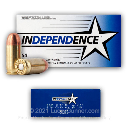 Image 6 of Independence .380 Auto (ACP) Ammo