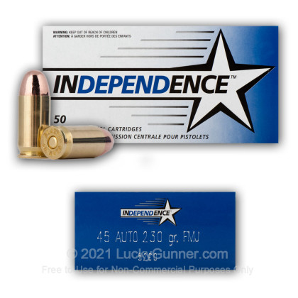 Image 9 of Independence .45 ACP (Auto) Ammo